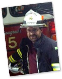 Aaron M. Scituate, RI Foster Center Volunteer Fire Company.