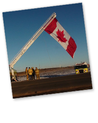 Thomas H. Leduc, AB Nisku Fire Rescue
