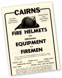 1958 Cairns General Equipment Ad