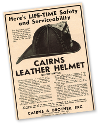 1951 Cairns Leather Helmet
